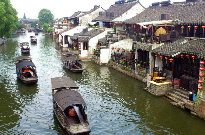 Private Round-Trip Day Tour: Xitang Water Town from Shanghai Including Boat Ticket