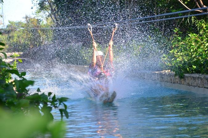 Zip Line Mega Splash at Bavaro Adventure Park