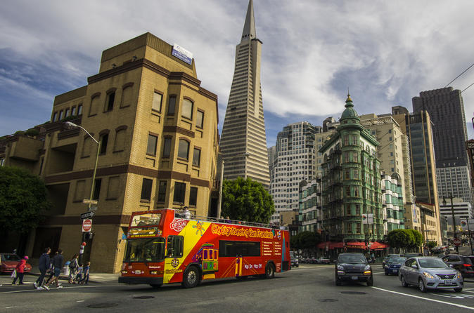 1 Day San Francisco Hop-On Hop-Off Bus, Madame Tussauds, 7D Experience