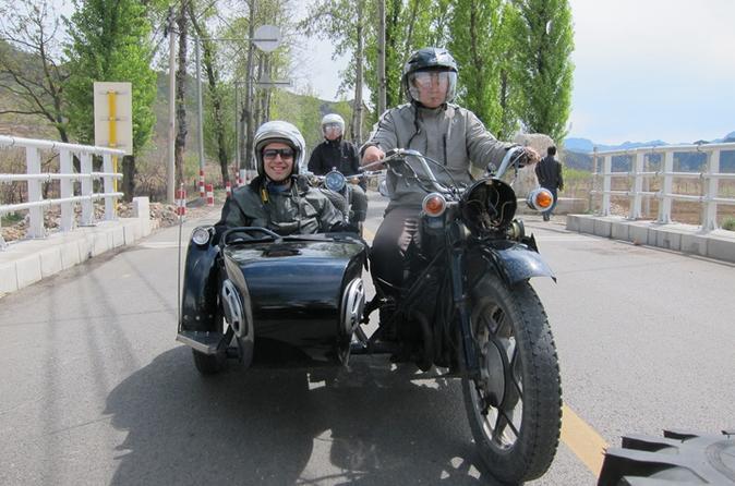 4-hour Beijing Vintage Sidecar Ride