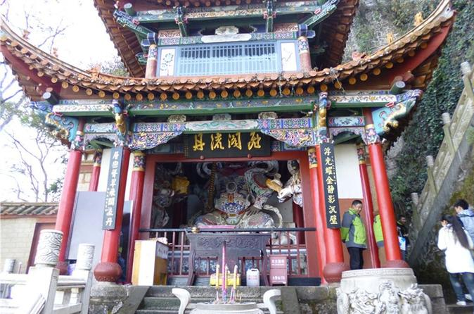 5 hour private tour dragon gate huating temple and grand view tower in kunming 272273