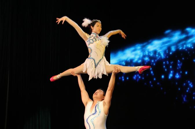 Beijing Evening Acrobatic Show with Hotel Transfer
