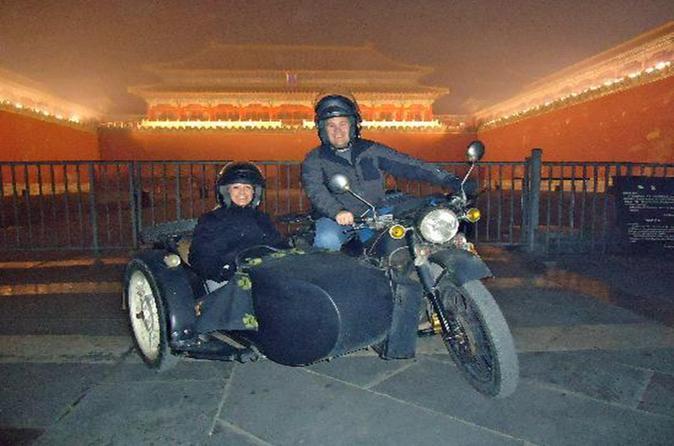 Beijing Evening Vintage Sidecar Ride