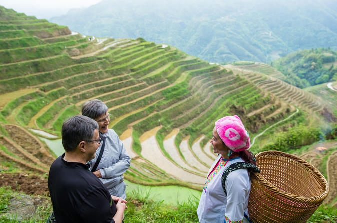 Mini Group Day Tour: Longji Rice Terraced Fields and Minority Villages Tour
