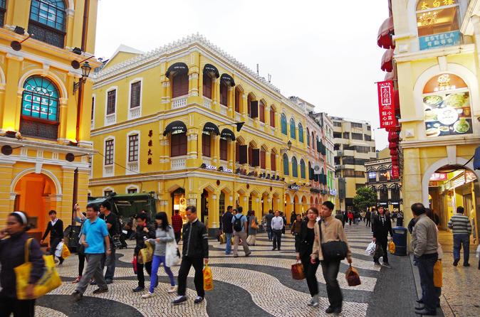 Viagem diurna para Macau saindo de Hong Kong