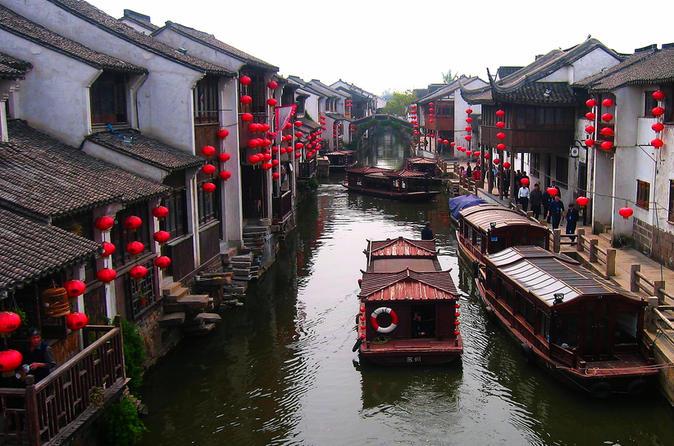 Zhouzhuang and Jinxi Water Town Tour from Shanghai