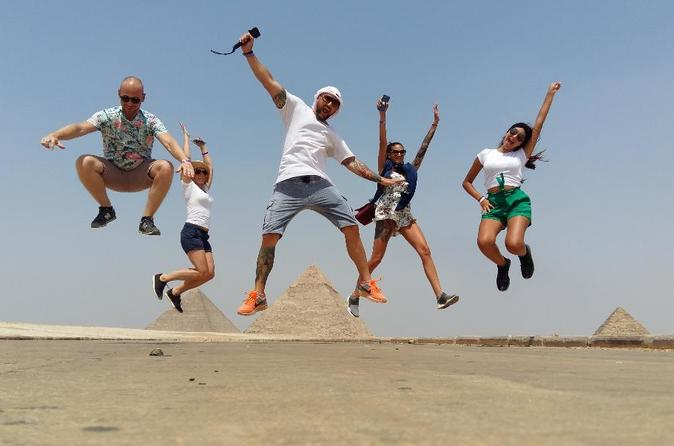 TOUR TO THE PYRAMIDS, CAMEL RIDE, EGYPTIAN MUSEUM, FELUCA at RIVER NILE , LUNCH