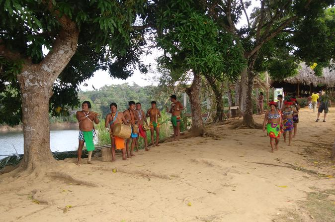 Tour Embera Indigenous Village and Chagres Rainforest