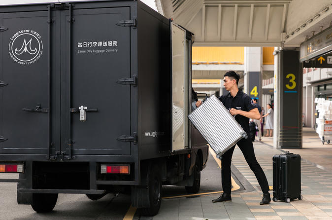 Hong Kong Same Day Luggage Delivery between HKG Airport and Hotels