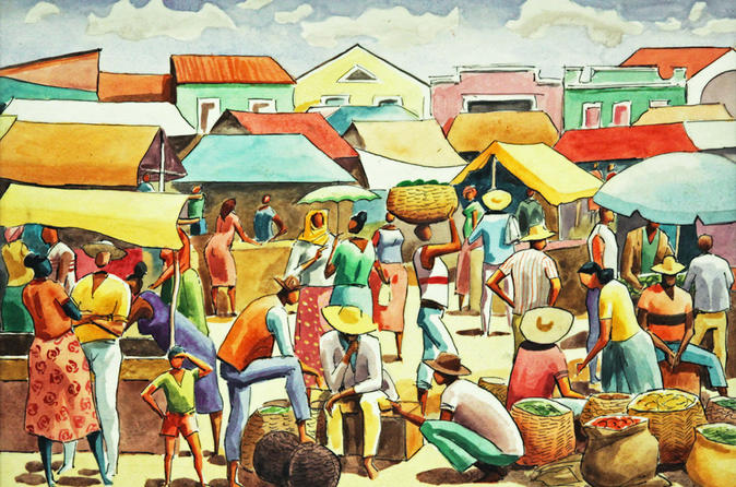 The African Soul of Bahia: roughts of Brasil