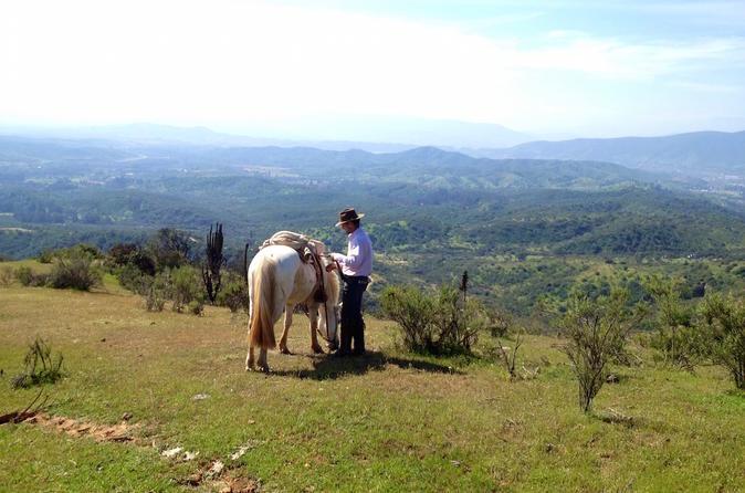 Valparaíso Escape Santiago Horseback Ride with Barbecue in the Hills Chile, South America