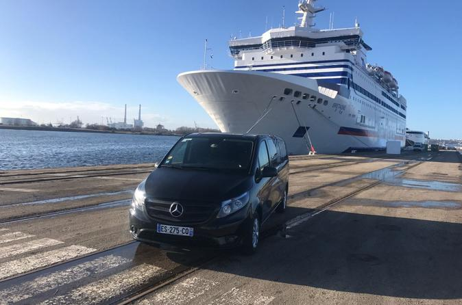 Paris Airport pick up to Normandy Cruise ports ( Le Havre, Rouen, Honfleur)