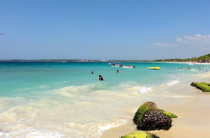 Viagem diurna à Playa Blanca saindo de Cartagena