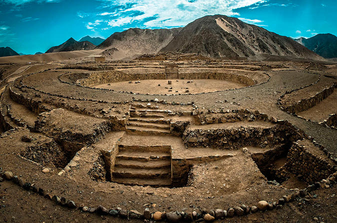 The magnificent city of Caral