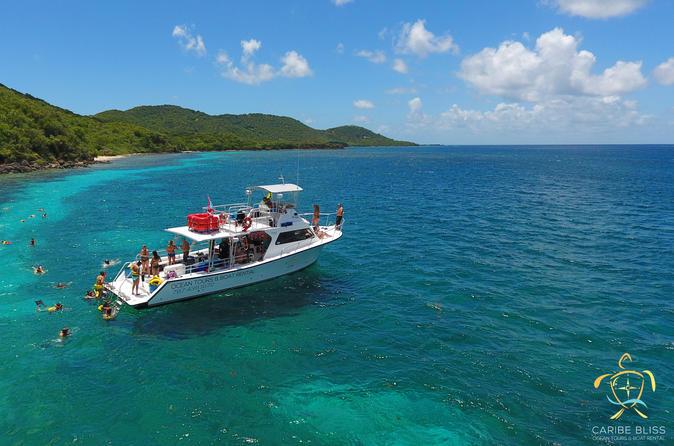 All Day Snorkel Beach Boat Tour To Flamenco In Culebra Island