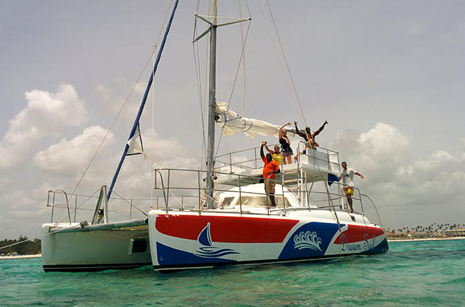 Private Half-Day Snorkel and Swim Catamaran Cruise from Punta Cana
