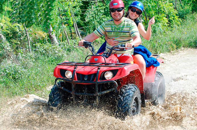 Punta Cana 4x4 ATV Adventure and Beach Tour