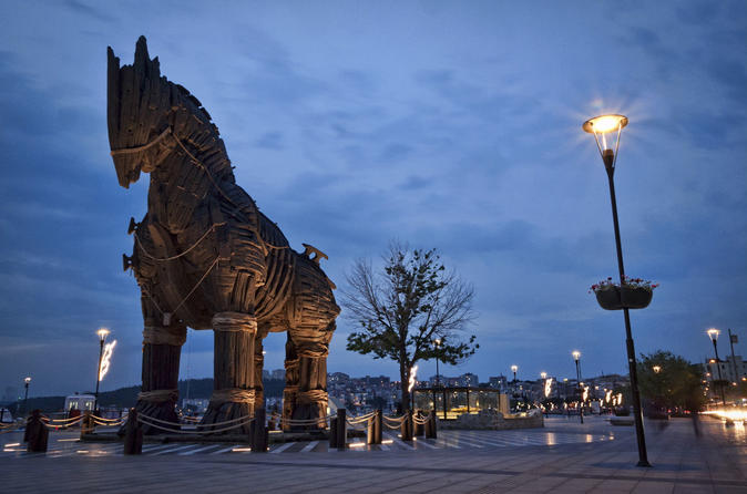 1 Night 2 Days Troy & Gallipoli Tour: Troyan horse, Helen of Troy, Cultural Strata Of Troy, Helles and Anzac Sectors