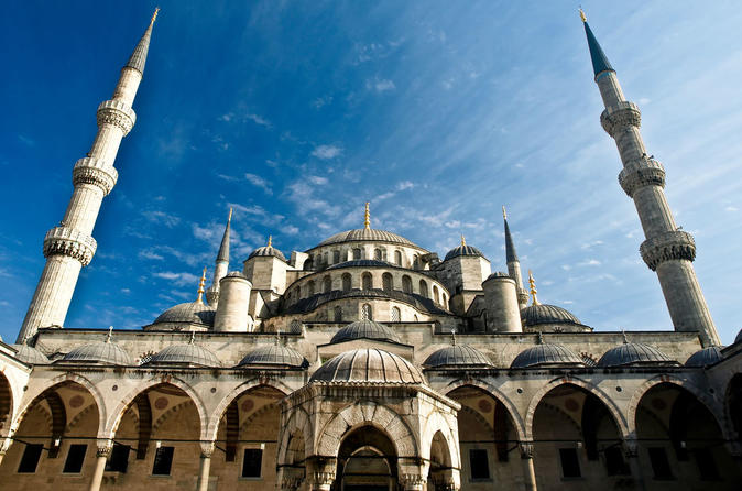 Best of Istanbul Tour including Hippodrome, Blue Mosque, Topkapi Palace, Grand Bazaar