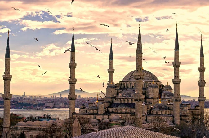 Full Day Byzantian & Ottoman Relics Tour: Hippodrome, Hagia Sophia, Blue Mosque, Grand Bazaar, Topkapi Palace, Sultan Tombs