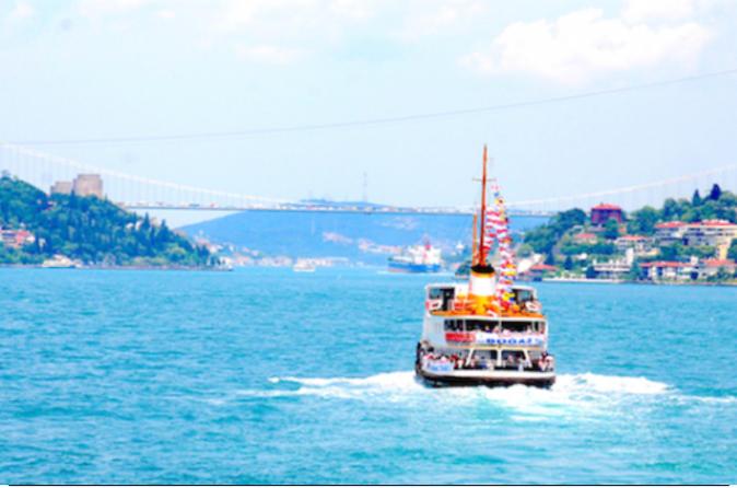 Half Day Bosphorus Cruise Tour:  Spice Bazaar, Bosphorus Tour On Boat, City Walls, Golden Horn