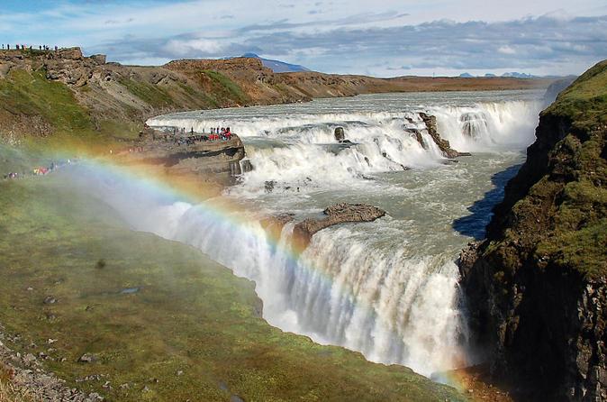 Excursão para grupos pequenos no Golden Circle e visita à Lagoa Secreta, saindo de Reykjavik