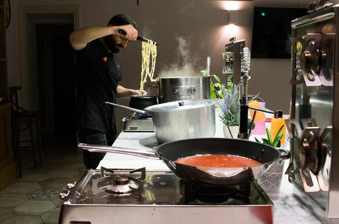 Pasta Making and Tiramisù
