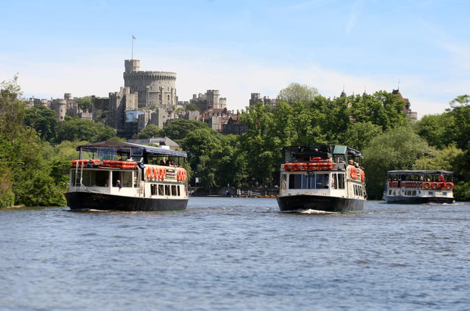 Scenic thames riverboat return journey from windsor in windsor 184883