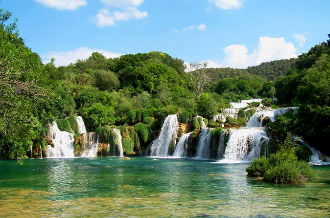 Krka Waterfalls and Sibenik Full Day Tour from Split or Trogir