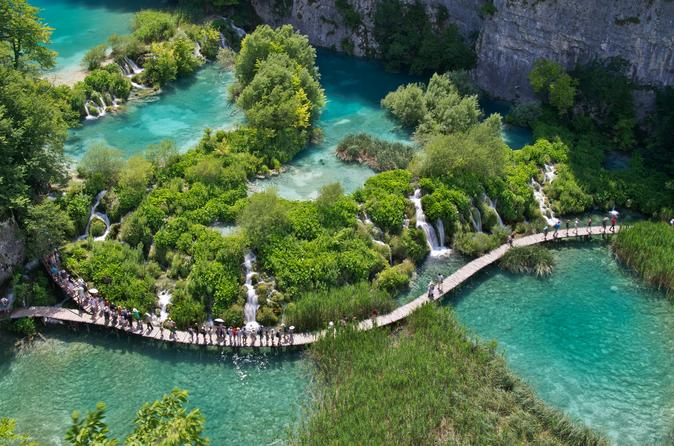 Plitvice lakes national park tour from split or trogir in split 327444