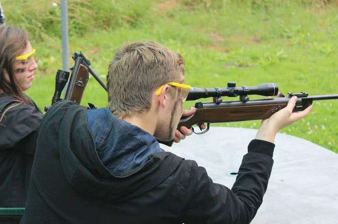 Private air rifle shooting session in blackpool in blackpool 301966