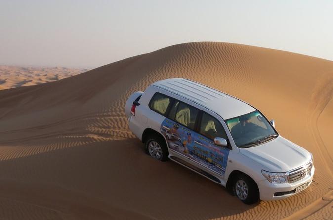 Ochtendsafari door de woestijn bij Dubai