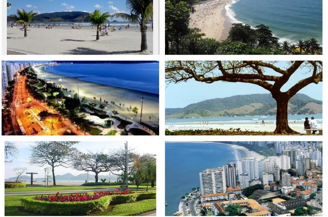 8-hour Tour Beach Town of Santos