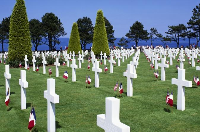 Full day small group tour of american d day beaches from bayeux in bayeux 183803
