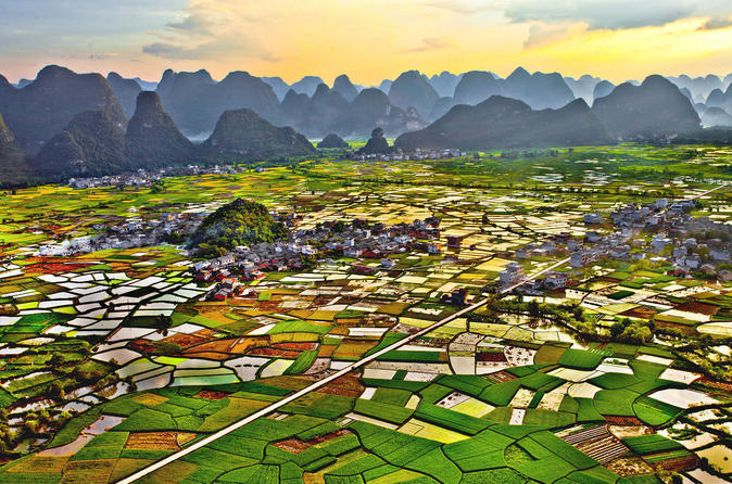 One Day Idyllic Karst Scenery Hiking in Huixian