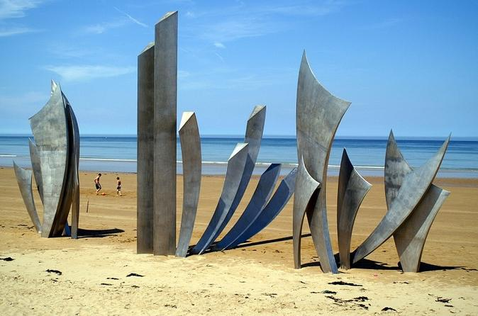 D-Day Normandy Landing Beaches Private Round Trip