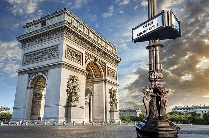 Small Group Paris Half Day Audio Pen City Tour and Sightseeing Cruise