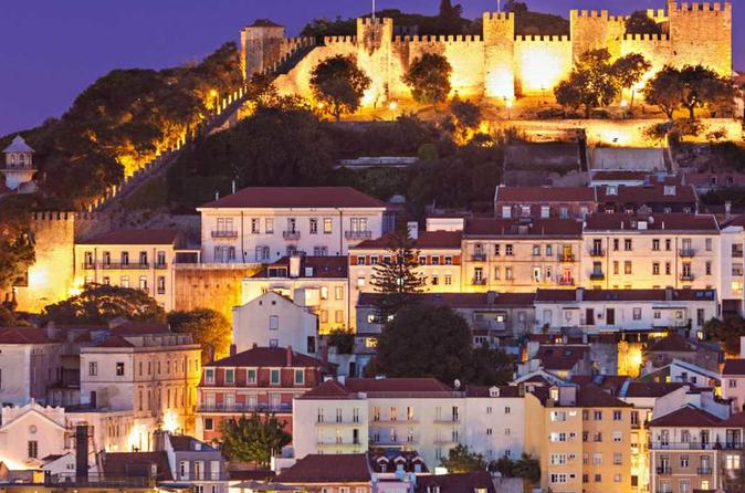 City Tour in Saint George Castle and Carmo Church Ruins- Castelo de São Jorge