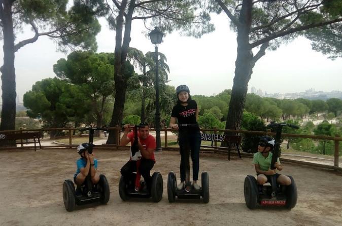 Madrid Casa Campo Park Segway Tour
