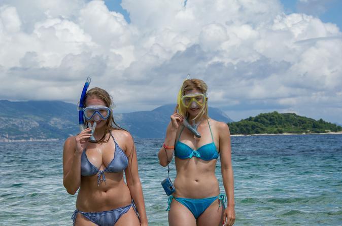 Korcula island snorkeling adventure in kor ula 184087