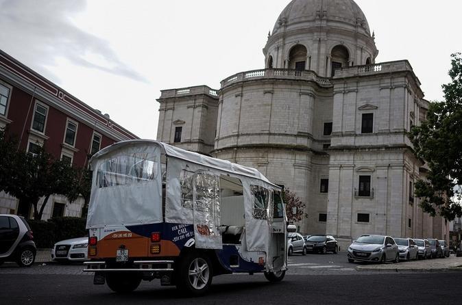 Lisbon: 1-Hour Old City Tuk-Tuk Tour