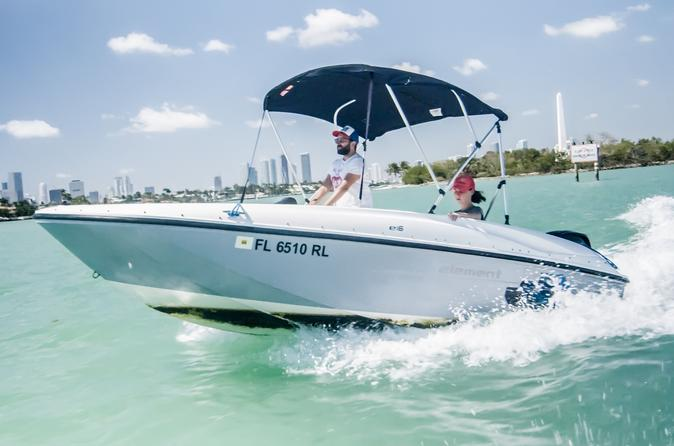 Rent and Captain Your Own Boat in Miami