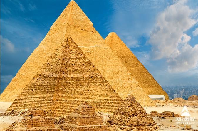 Cairo Layover Tours Visit Giza Pyramids, Memphis, Sakkara, Dahshur Pyramids & Bazaar in Egypt
