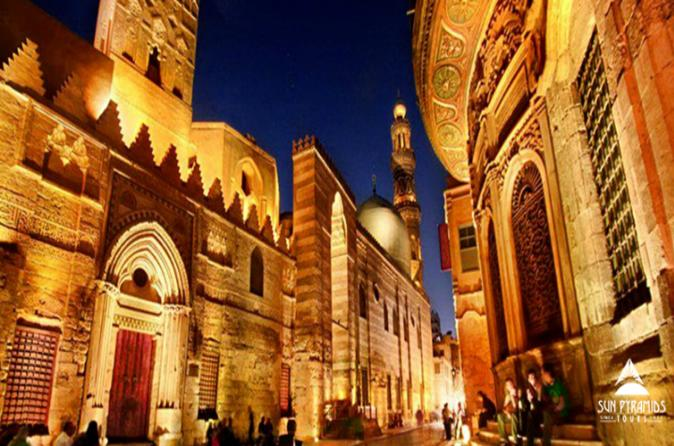 Day tour to El-Moez Street, Cairo tower and El-Fishawy Café in Egypt