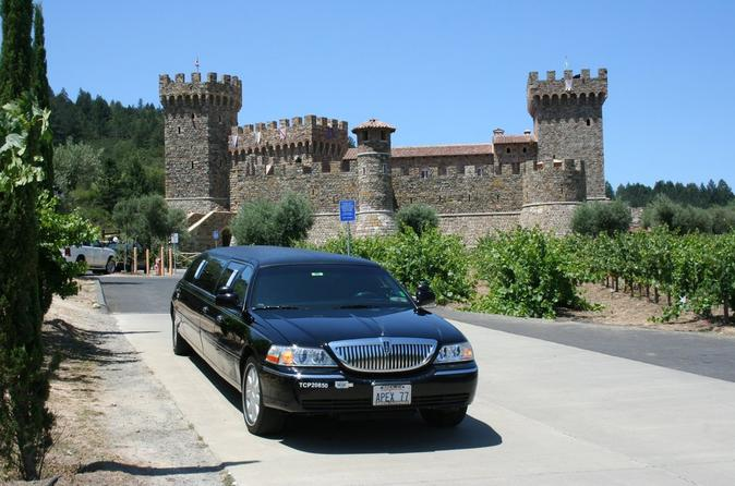 8-Hour Private Limousine Wine Country Tour of Napa Valley from San Francisco