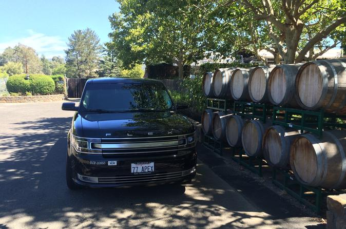8-hours San Francisco to Napa Valley Day Trip in Private Ford FLEX Crossover up to 6 People