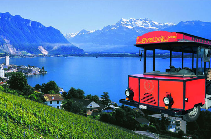Riviera Line To Montreux Including Lavaux Sightseeing And Optional