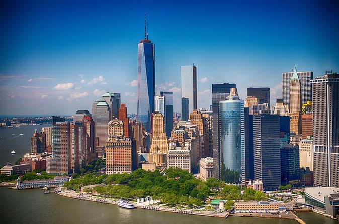New York City Luxury Bus Tour and Harbor Cruise