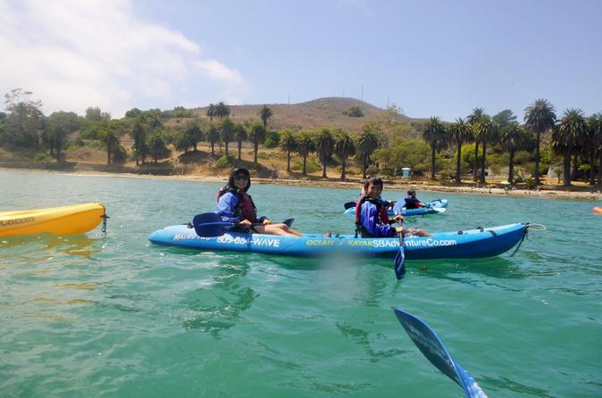 Refugio State Beach Kayak Tour