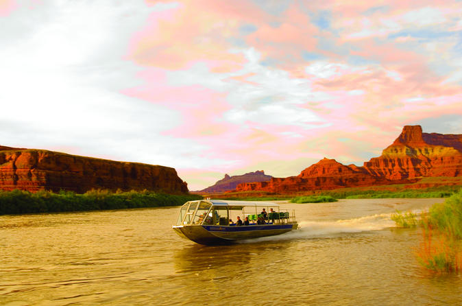 Sunset jetboat in moab 249243